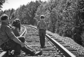 nešťastné dítě
