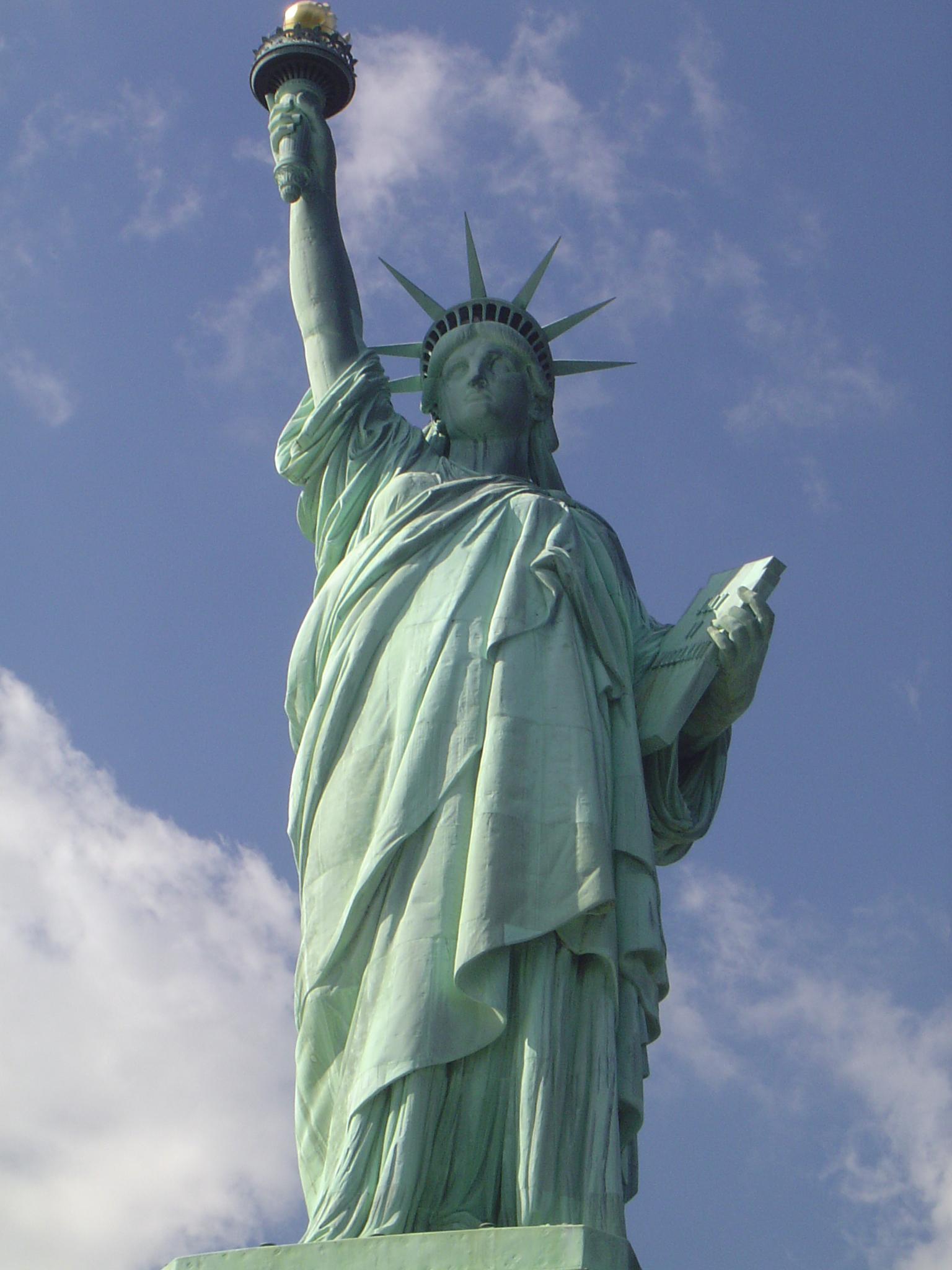 socha svobody velká