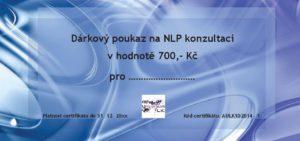 Dárkový poukaz na NLP konzultace